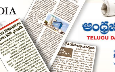 Aparna Enterprises records 50% growth in FY18-19