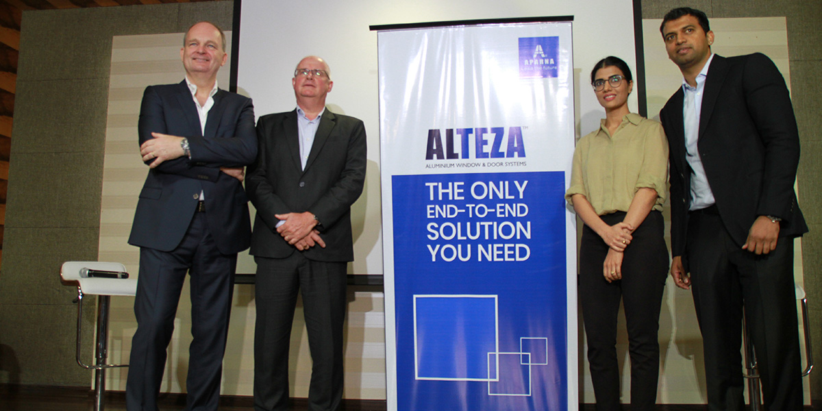 Aparna-Craft launches Alteza Aluminium Window and Door Systems