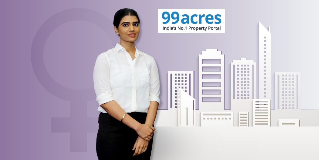 99acres.com – Women's Day special edition featuring Ms. Aparna Reddy