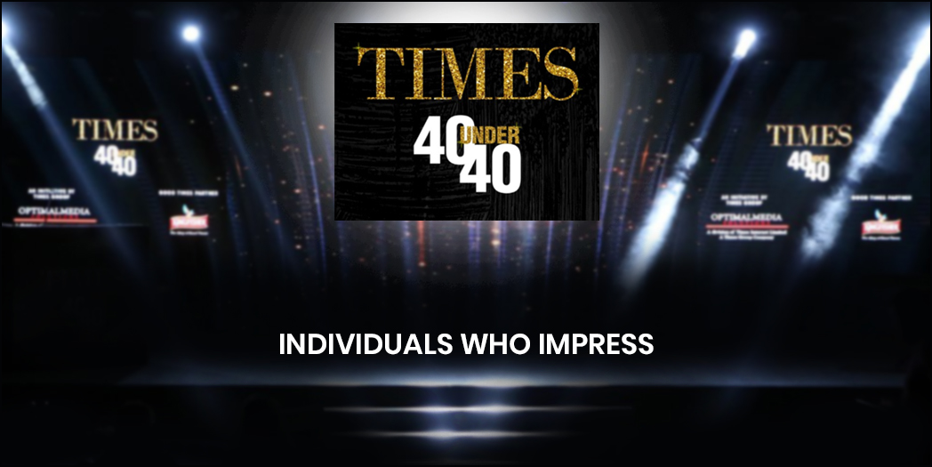 Times 40 Under 40: Celebrating the game changers