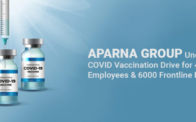 Aparna Group Undertakes COVID Vaccination Drive for 4000 Employees & 6000 Frontline Labourers